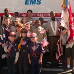 Troop 115 and Pack 115 - Veterans Day Parade