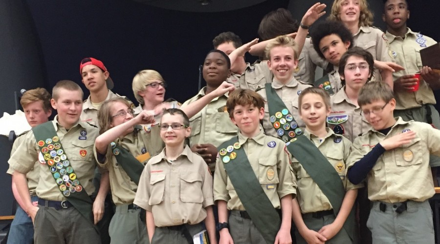 Troop 115 moments of glory